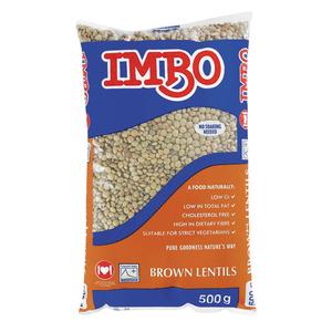 Imbo Brown Lentils 500g