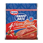 Ital Happy Days Pizza Bases with Tomato Sauce 4ea