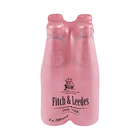 Fitch & Leedes Pink Tonic Glass Bottle 200ml x 4