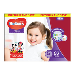 HUGGIES UNISEX MEGABOX SIZE 88EA