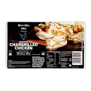 PnP Shaved Chargilled Chicken 125g