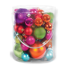 Santa's Village Bauble Bucket 50 Piece