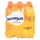 Bonaqua Naartjie Flavoured Sparkling Water 500ml x 6
