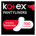 KOTEX PANTYLINERS CORE UNSCENTD100EA