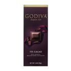 GODIVA 72% DARK CHOCOLATE 90GR