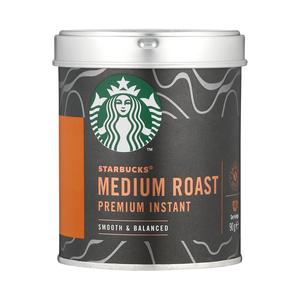 Starbucks® Medium Roast Premium Instant Coffee 90g tin
