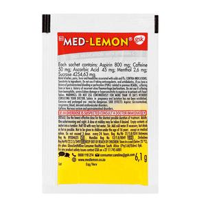 Med-Lemon Cold & Flu Hot Medication 5.8g