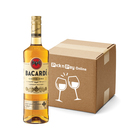 Bacardi Gold Rum 750ml x 12