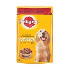 Pedigree Dog Food Beef & Veg In Gravy 100g