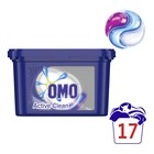 Omo Auto 3in1 washing capsules 17's