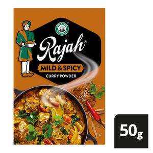 Robertsons Rajah Curry Pow Mild & Spicy 50g