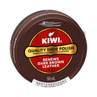 Kiwi Paste Shoe Polish Dark Brown 50ml