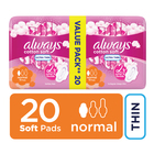 Always Ultra Sanitary Pads Regular 20s
