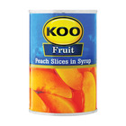 Koo Choice Grade Peach Slices 410g
