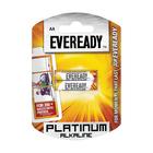 Eveready Platinum Alkaline AA Batteries 6s