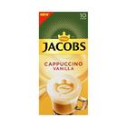 Jacobs Vanilla Cappuccino Sachets 10s