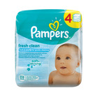 Pampers Baby Wipes Fresh 4 x 64s