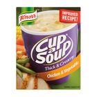 Knorr Cup-A-Soup Thick & Creamy Chicken & Veg 3s