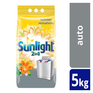 Sunlight  2in1 Summer Sensations Autowashing Powder 5kg
