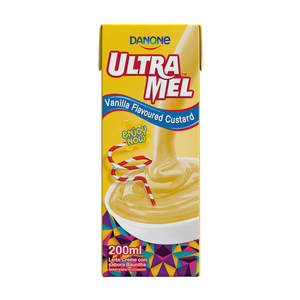 Danone Ultra Mel Vanilla Custard 200ml
