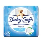 Baby Soft 2 Ply Toilet Paper Printed Blue 9s x 10