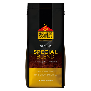 House of Coffees Special Blend Medium Roast Ground Filter Coffee 250g