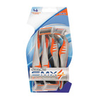 Super-max SMX4 Mens Disposable Razors 4e