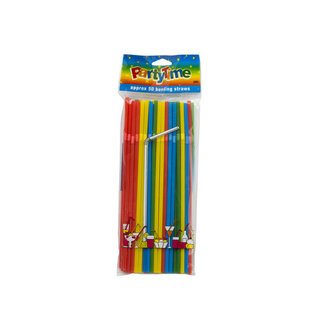 Party Time Bending Straws 50ea