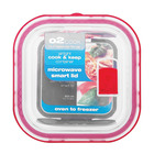 O2 COOK A/T SQ DISH 800ML WITH SMART LID