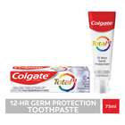 Colgate Total 12 Clean Mint, Multibenefit Toothpaste 75ml