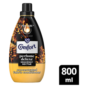 Comfort Perfume Deluxe Heavenly Nectar Concentrated Fabric Conditioner 800ml
