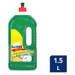 Sunlight Regular Dishwashing Liquid 1.5l