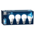 PNP 7W ES A60 LED CW 4 PACK