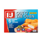 I&j Out The Oven Crumb Fish  Mustard 400g