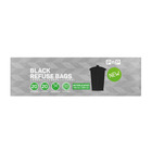 PnP Black Refuse Bag Interleafed 20s