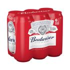 Budweiser CAN 410ml x 6