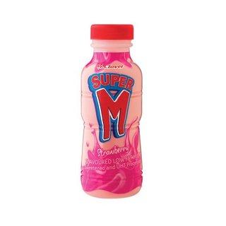 Super M Strawberry 300ml x 6