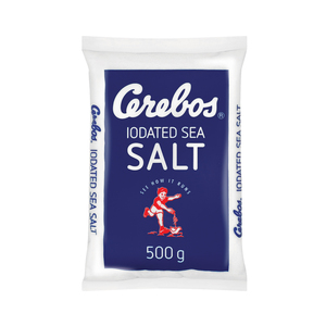 Cerebos Salt Iodated Table Poly 500g