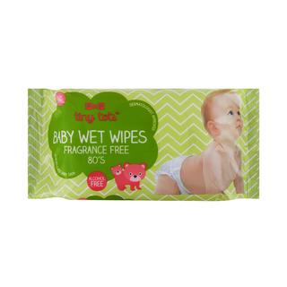 PnP Tiny Tots Baby Wet Wipes Fragranced Free 80s