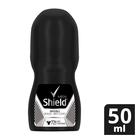 Shield Men Invisible Black + White Antiperspirant Roll-On 50ml