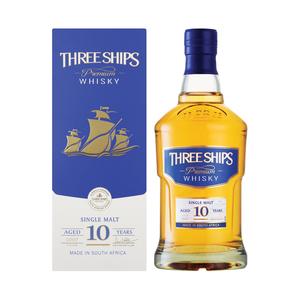 THREE SHIPS 10 YO SINGLE MALT 750 ML