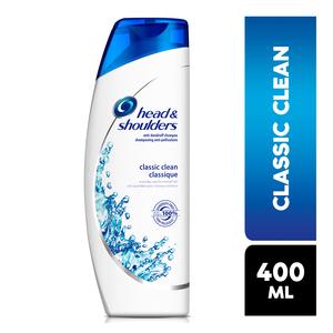 Head&shoulders Classic Clean Shampoo 400ml