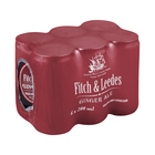 Fitch & Leedes Ginger Ale 200ml x 6