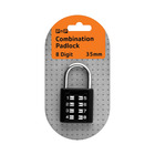 PnP Combination Padlock 35mm