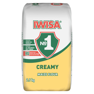 Iwisa Creamy Maize Flour 2.5kg