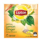 Lipton Lemon Ginger Flavoured Herbal Tea 20s