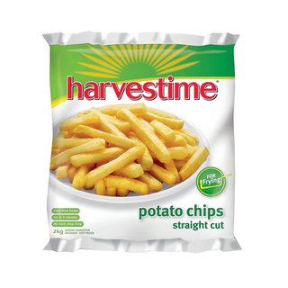 Harvestime Fry Chips Straight Cut 2kg