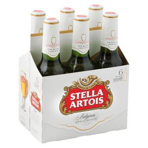 Stella Artois Lager 330ml x 6