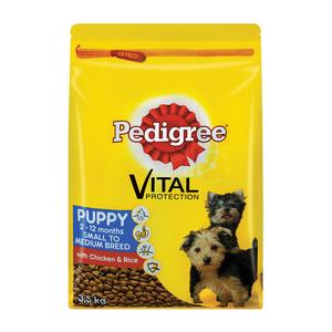 Pedigree D/f Pup Dry Chicken&rice 3.5 Kg