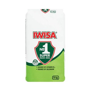 Iwisa Super Maize Meal 5 KG x 4